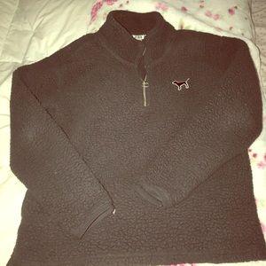 VS PINK Sherpa pullover